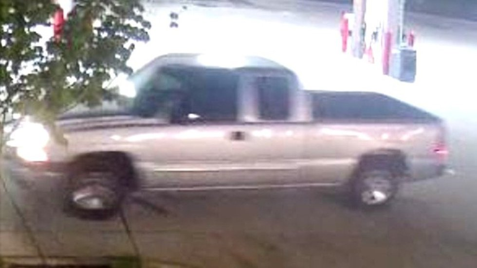 Authorities say the Circle K thieves fled in this truck.