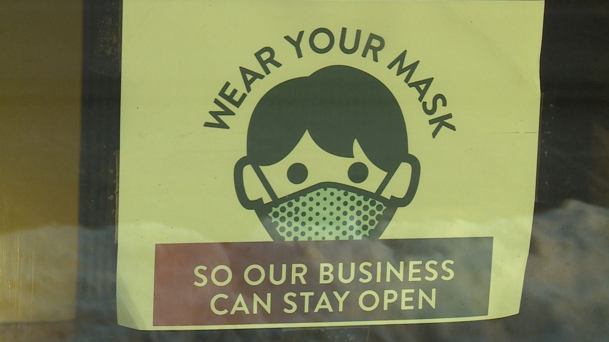 Face masks are still a requirement for some large business chains across the nation as some...