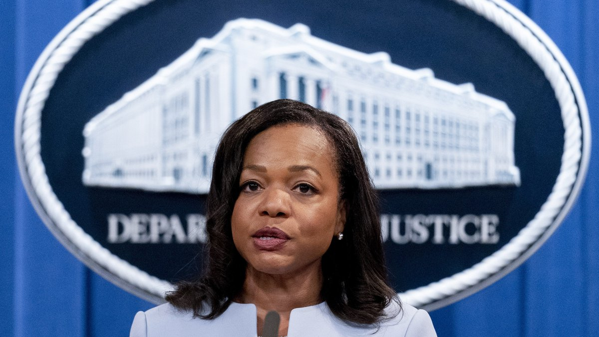FILE - In this Aug. 5, 2021 file photo, Assistant Attorney General for Civil Rights Kristen...
