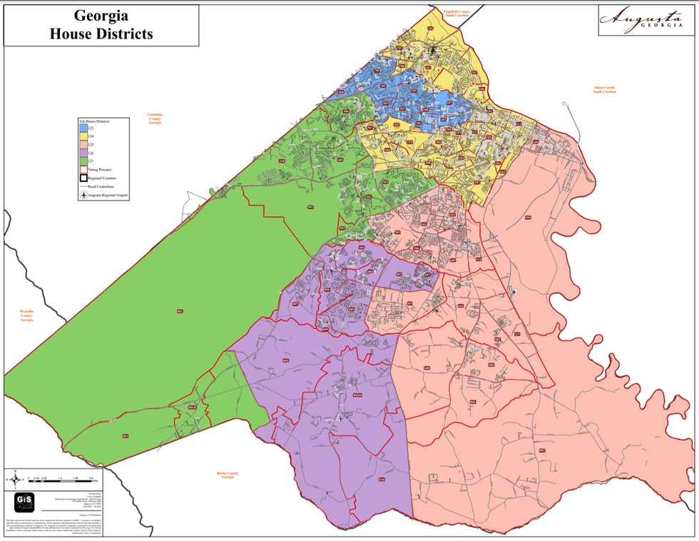 Georgia House districts