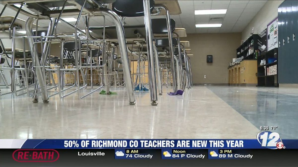 About 200 new teachers are filling the halls in Richmond County schools this year. (Source: WRDW)
