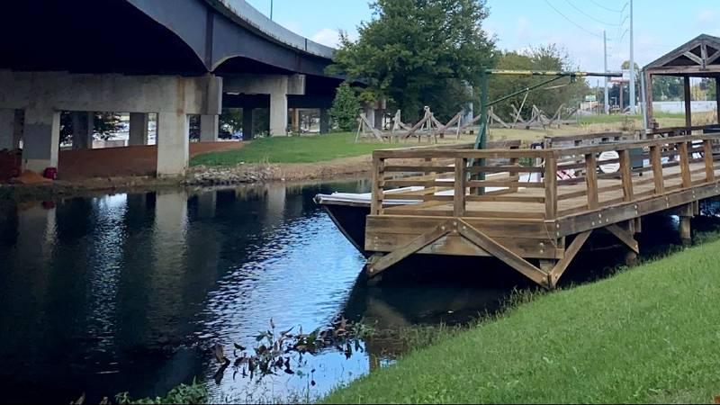 Augusta Canal near Enterprise Mill