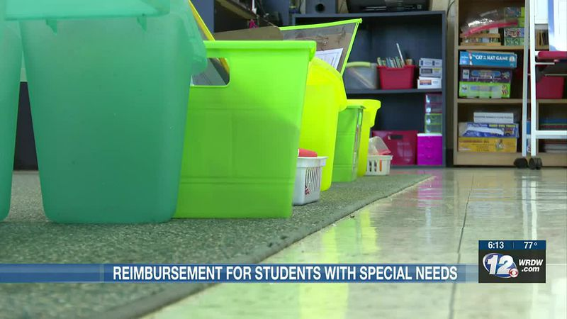 Reimbursements open for families and students with special needs