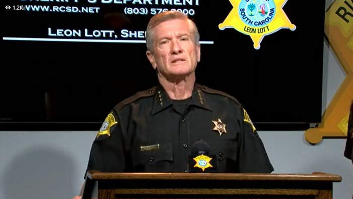 Richland County Sheriff Leon Lott announced Tuesday morning no charges would be brought against...