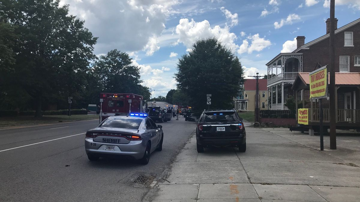 The accident happened on 12th and Greene streets, officials say. (Source: WRDW)