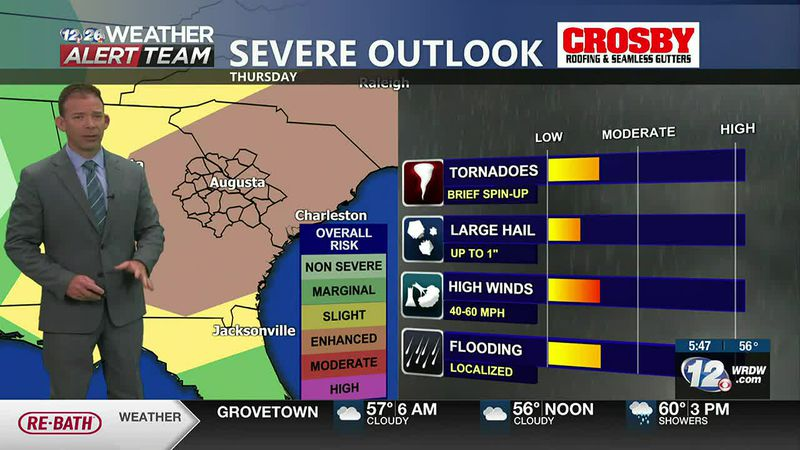 Severe Weather Outlook Thursday