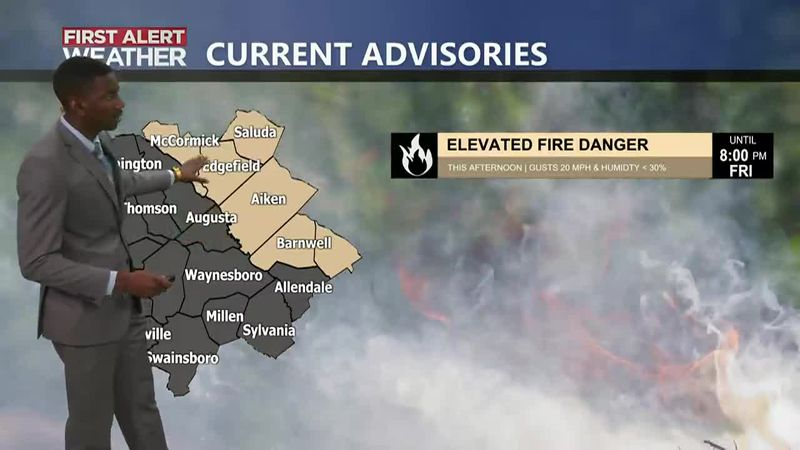 Elevated Fire Risk Today
