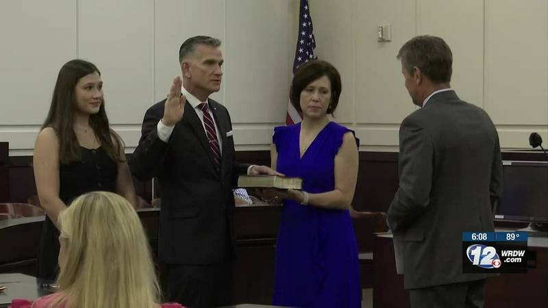 Columbia County swears in district attorney