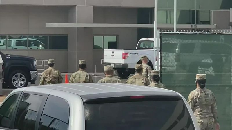Military member describe the pandemic situation in El Paso as like a scene out of Iraq.