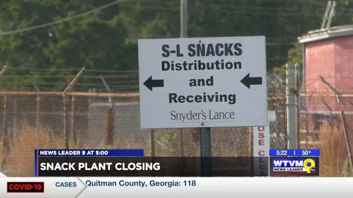 A snacks plant nearly a century old in Columbus is officially closing its doors.