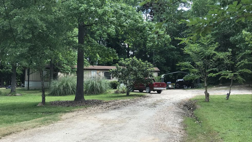 James Grates has been charged in the Grovetown pipe bomb investigation that began at this home. (Source: WRDW)