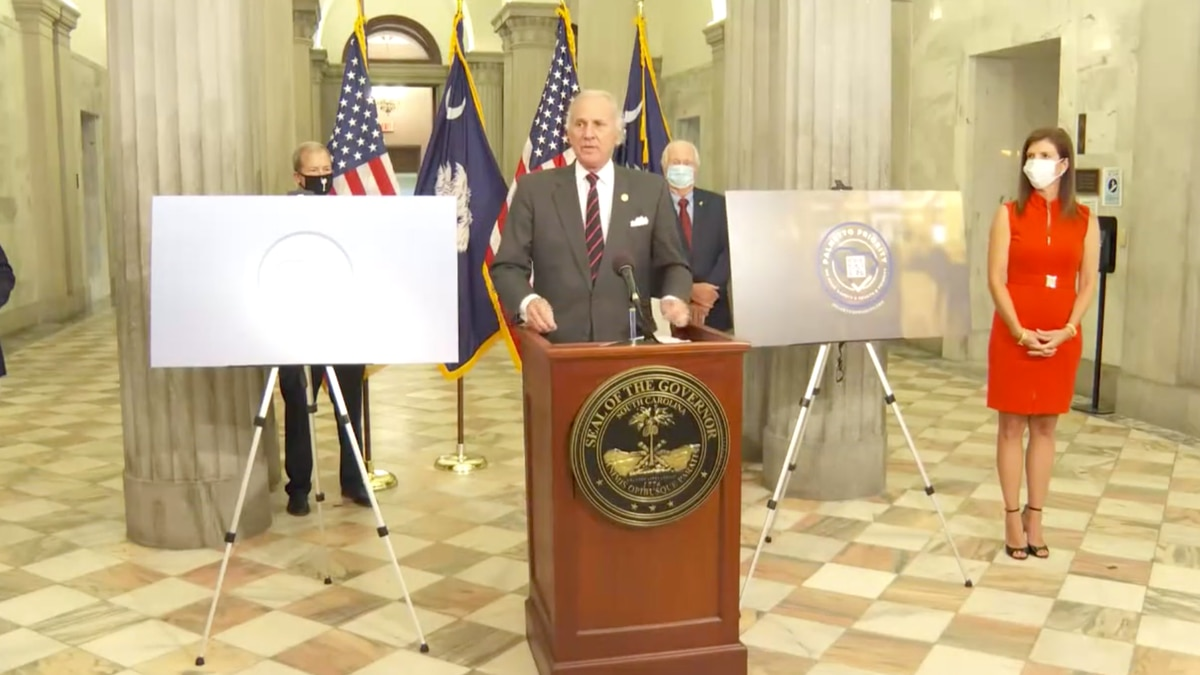 South Carolina Gov. Henry McMaster spoke Tuesday about the state's new Palmetto Primary program. (Source: WRDW)
