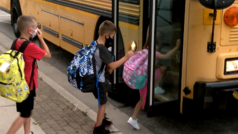 The agency says school districts must be in compliance with the order by Monday.