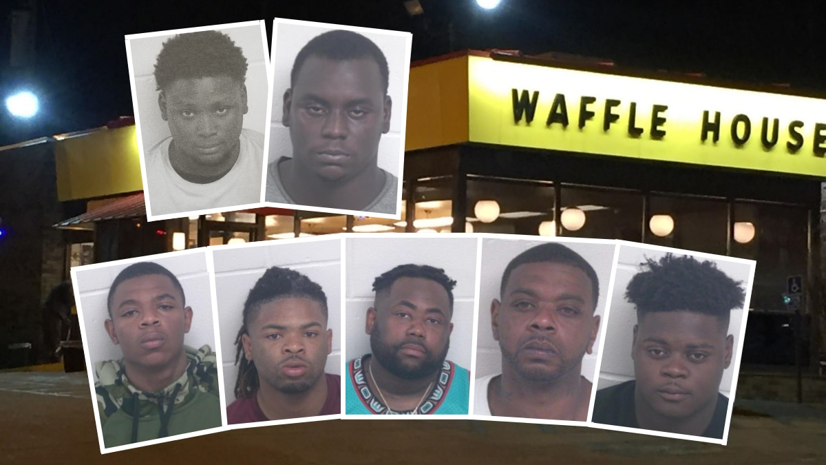 """Top row left to right: Jaterious Sanders and Terrance Oliver, AKA """"T-Black."""" Bottom row, left..."""