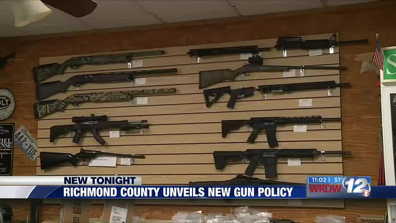 Richmond County unveils new gun policy