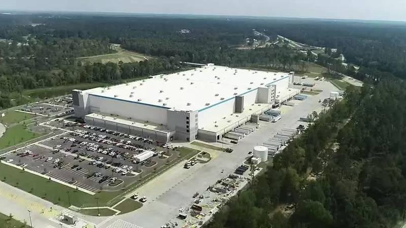 Doors open on new Amazon center