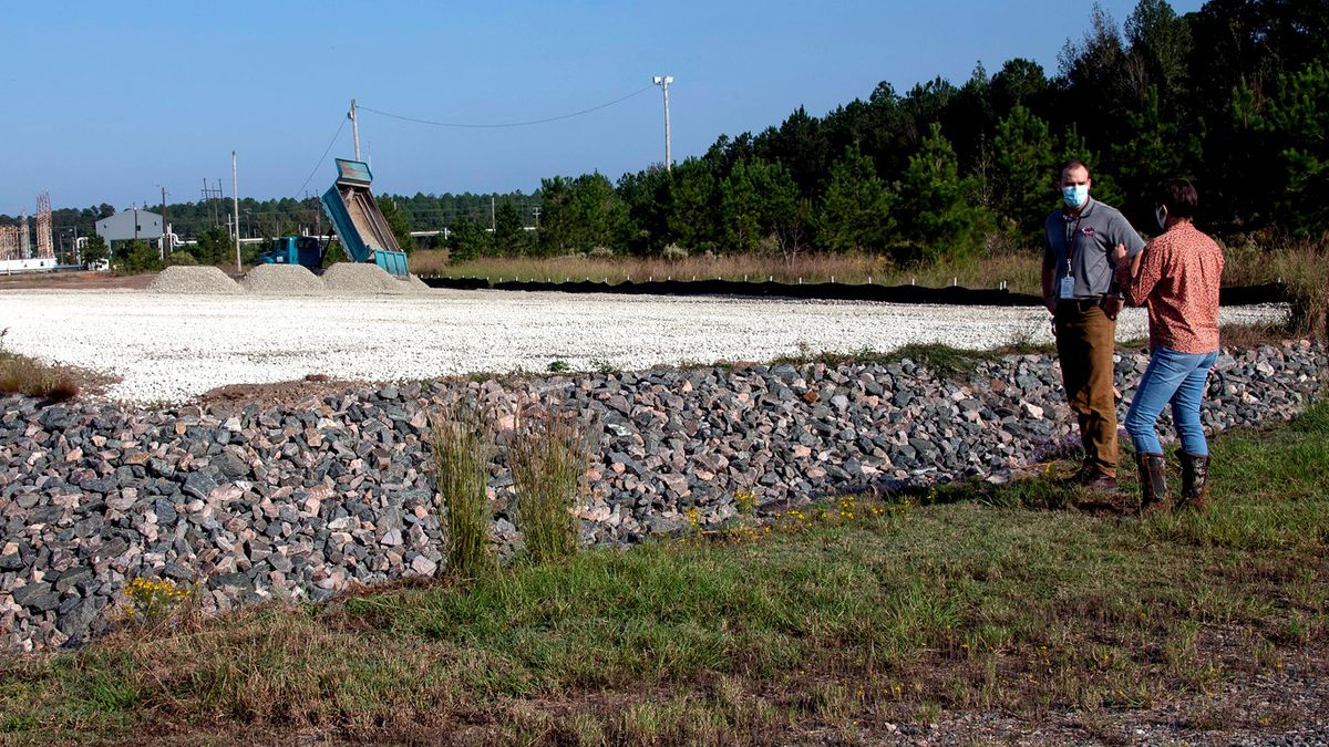 Savannah River Nuclear Solutions Project Manager Kelsey Holcomb discusses the cleanup of the...