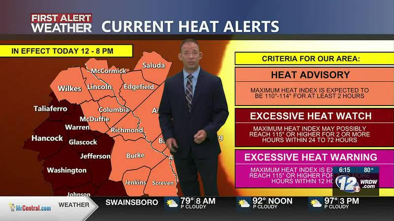 Heat Advisory, Hot Weekend