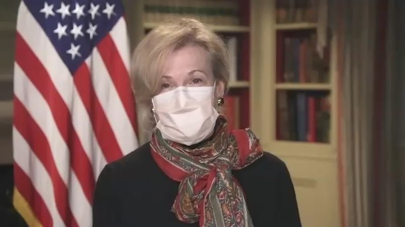 Dr. Deborah Birx discusses COVID vaccine rollout and holiday travel during the pandemic