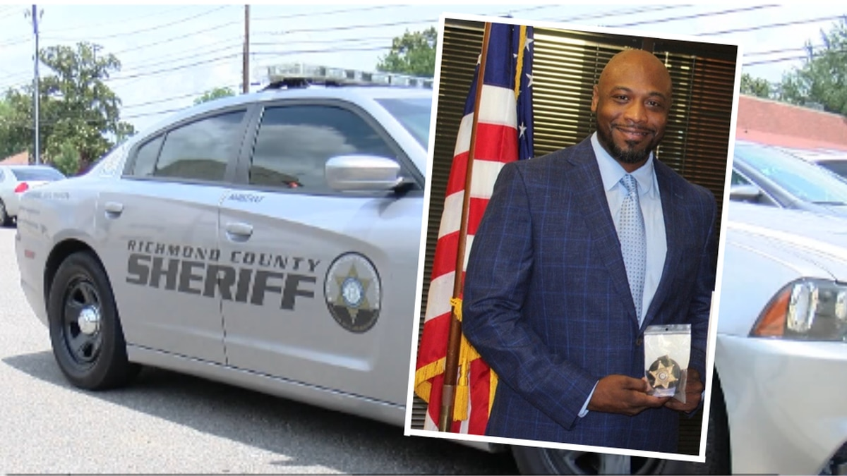 Michael McDonald (pictured above) has resigned from the Richmond County Sheriff's Office.