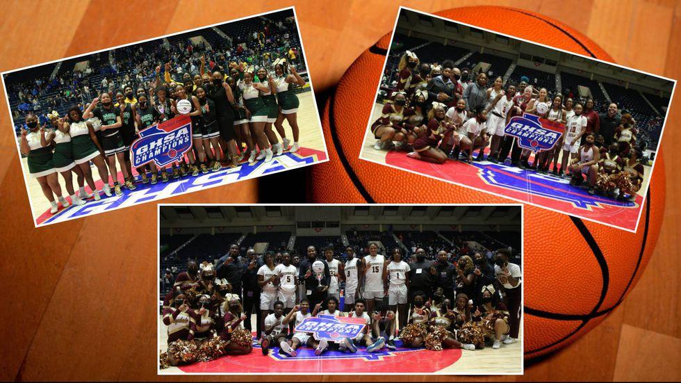 The T.W. Josey High School girls basketball team and the Cross Creek High School boys and girls...