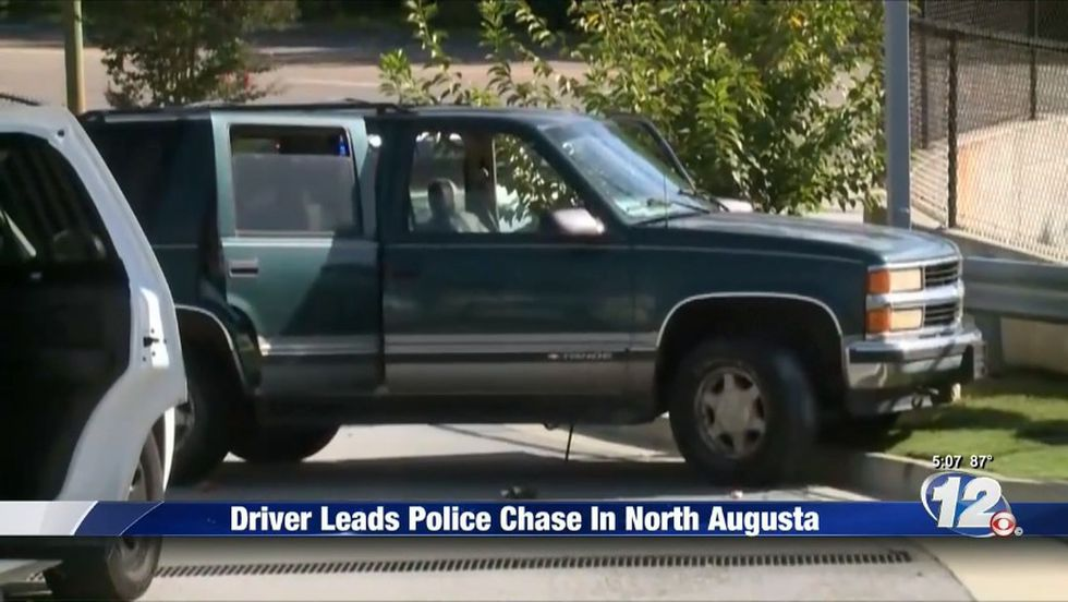 North Augusta Car Chase Key Theft Leads To Arrest