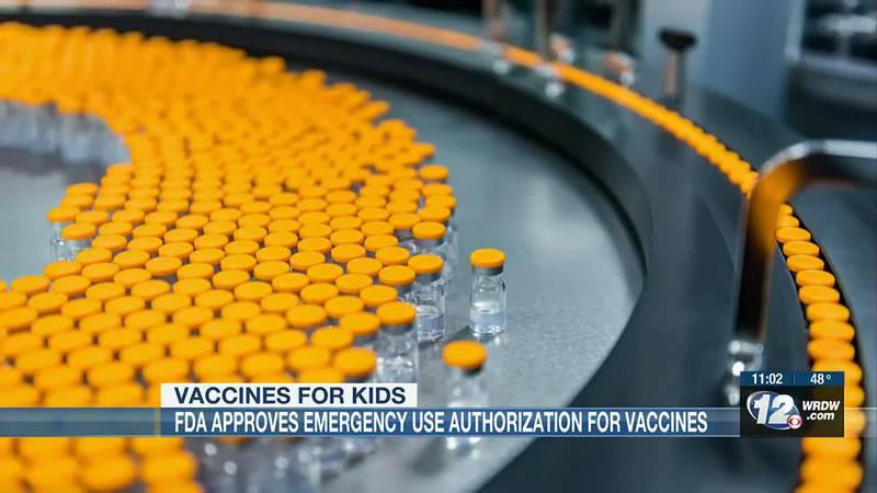 COVID child vaccine