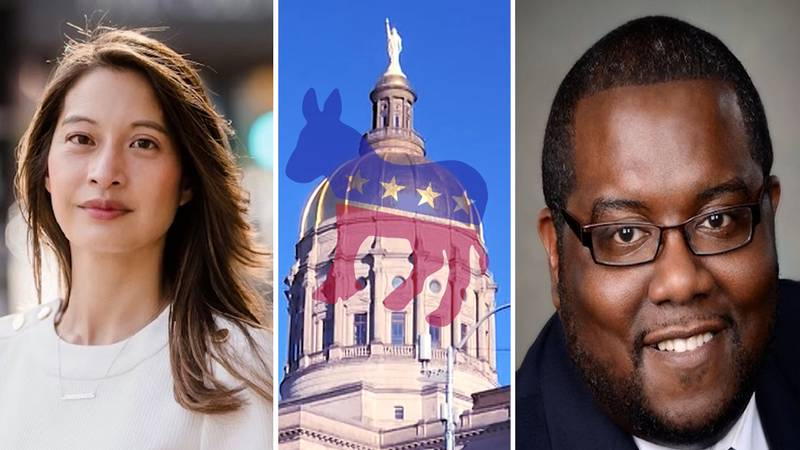 Georgia Democrats Bee Nguyen and Manswell Peterson are on track to face off next year in the...