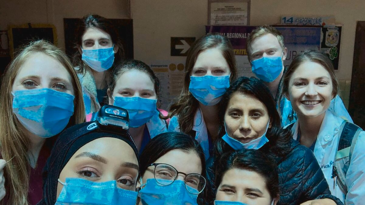 Seven AU students were having a trip in Peru when they suddenly became trapped after borders closed due to the coronavirus. (Source: Students in Peru)