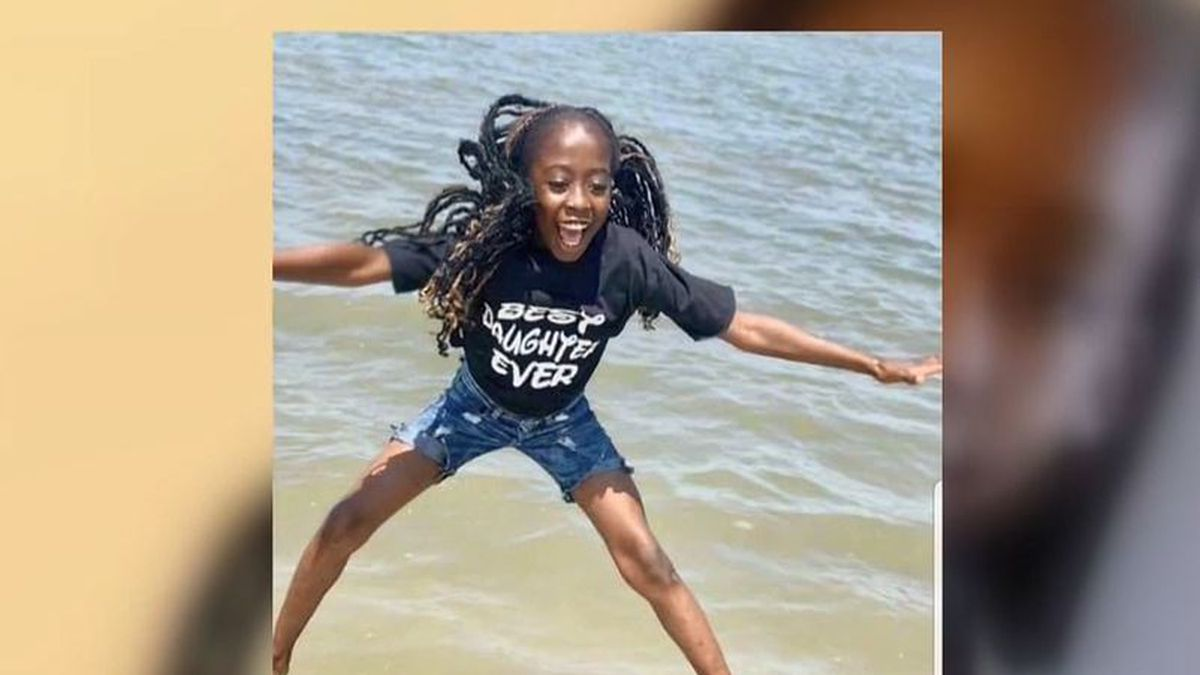 11-year-old Charnia Eccelston died Tuesday morning after a crash.