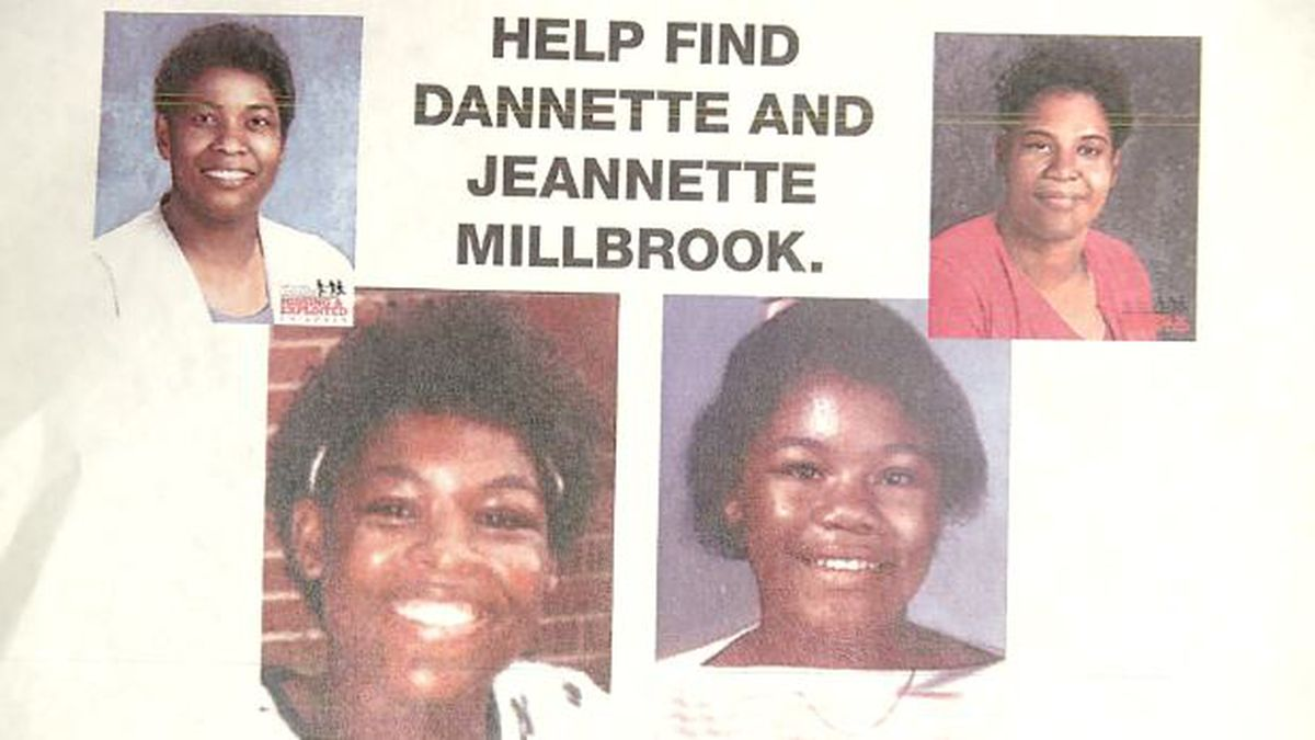 Dannette and Jeannette Millbrook have been missing for 30 years almost. Now, a TV documentary may have provided new information. (Source: WRDW)