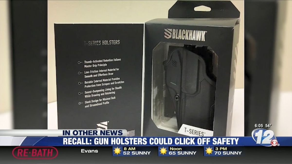 More than 3,000 gun holsters are being recalled. (Source: CNN)