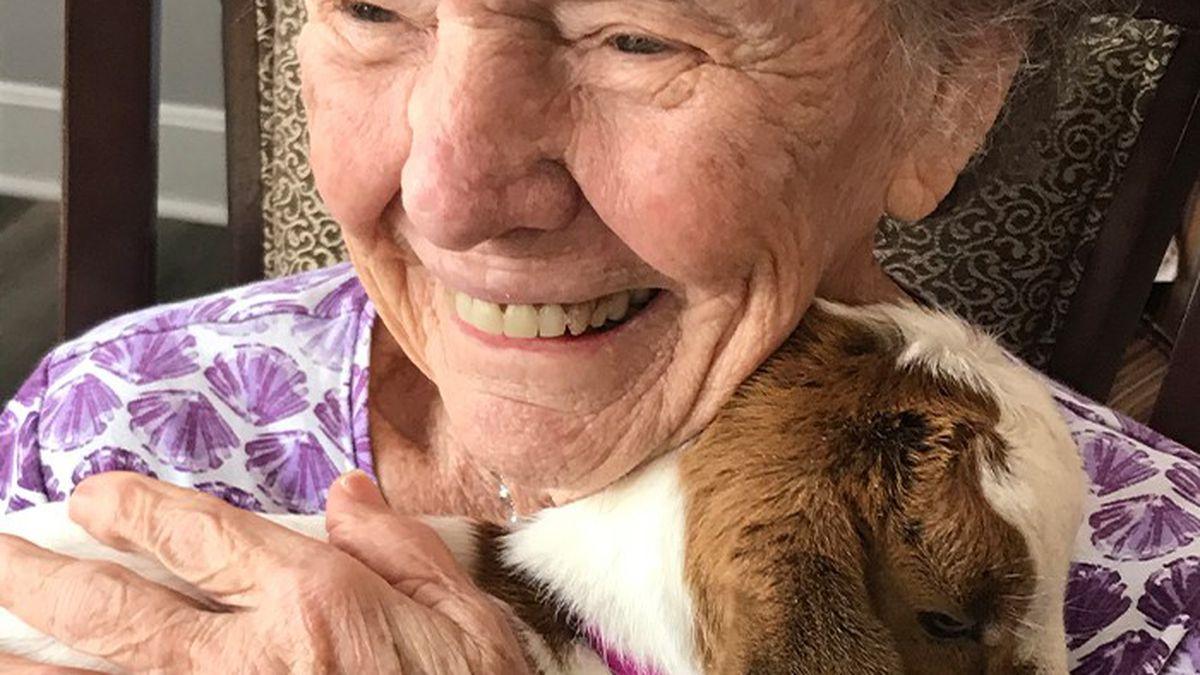 Madison Heights Evans, an Atlas Senior Living memory care community in Evans, GA, had baby...