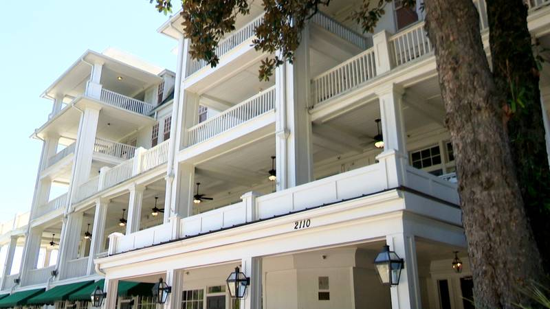 The Partridge Inn has been open in Augusta for 100 years.