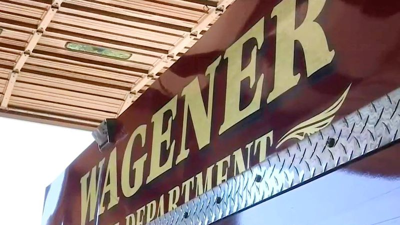 The Wagener Fire Department has been embroiled in controversy.