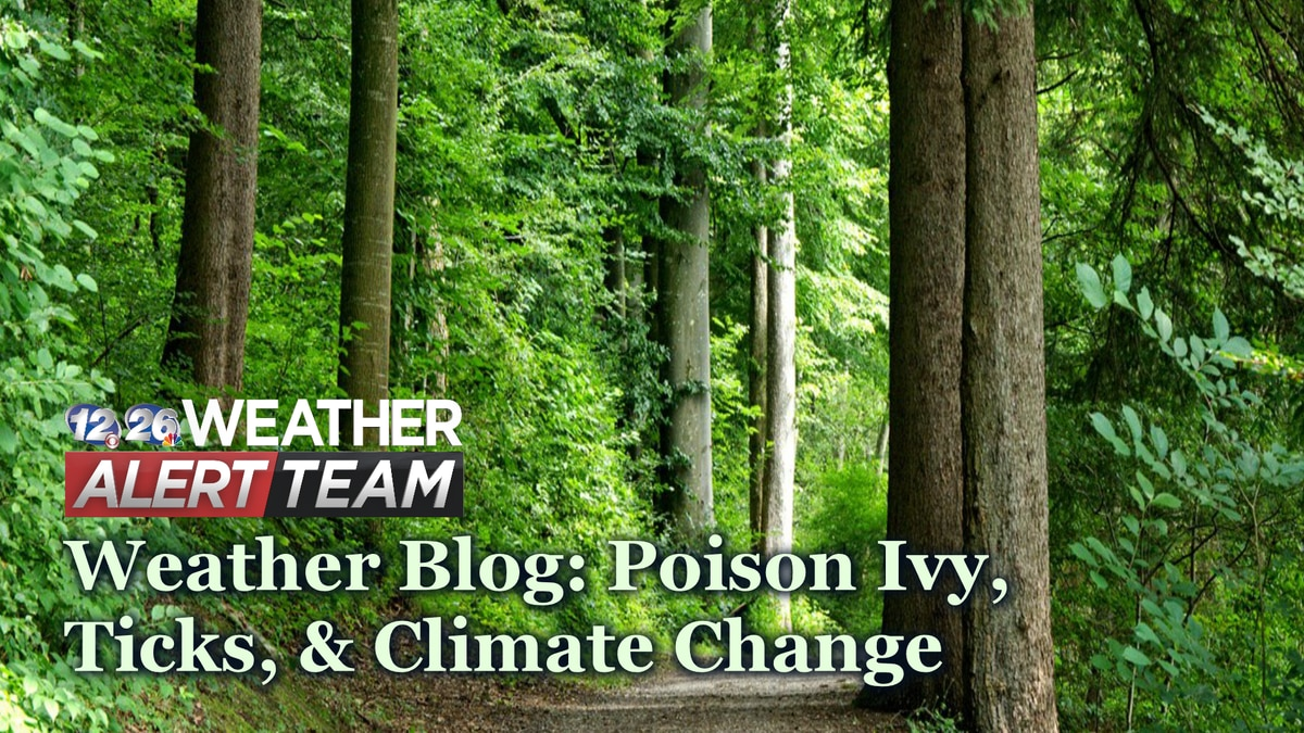 Is a warming climate leading to more ticks and more toxic poison ivy? Find out in this week's...