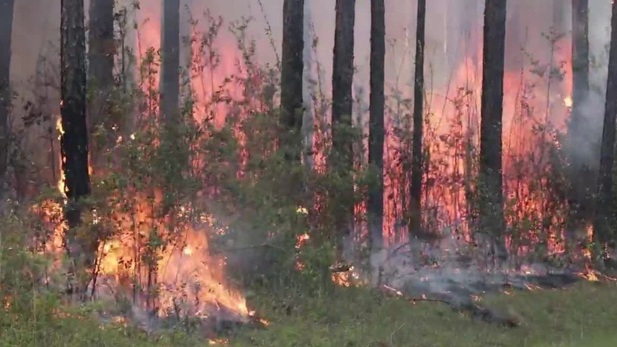 A fire danger statement is in effect from 1 p.m. to 7 p.m. Monday and the NWS says weather...