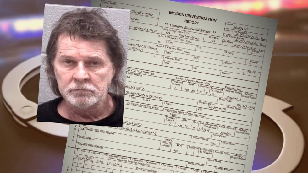 Wesley Jordan Gales' booking photo and the sheriff's report on the incident that led to his...