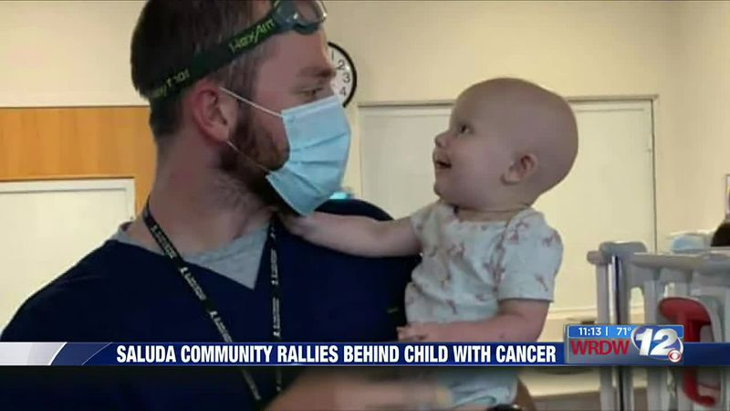 Saluda community proves stronger together for Caylie