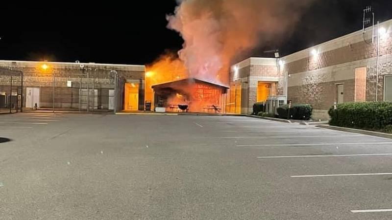 Burke County Sheriffs Office Fire