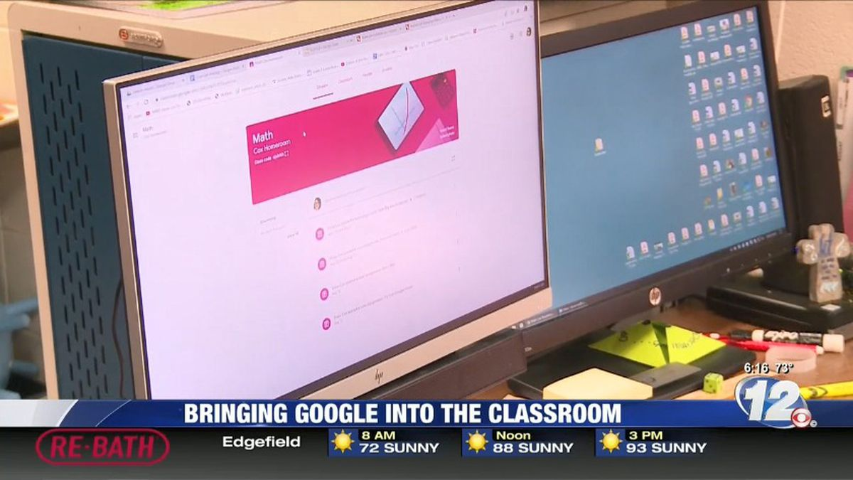 Google classrooms are the newest upgrade for some students in Columbia County, thanks to a new collaborative program. (Source: WRDW)