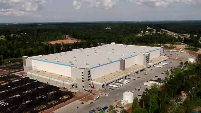 The countdown is on for the completion of the two amazon centers in Appling. Together the two...