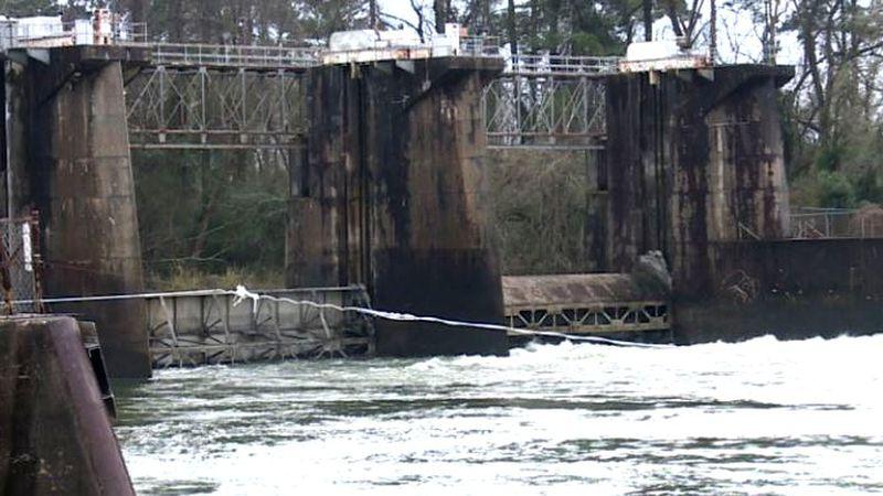 New Savannah Bluff Lock and Dam, February 2020