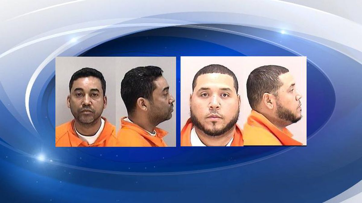 Jimmy Alexander Pujols, 35, and Fausto Mendez Ramos, 40, are charged in a federal complaint with conspiracy charges related to the seizure, U.S. Attorney Bobby Christine said. (Source: Richmond County Sheriff's Office)
