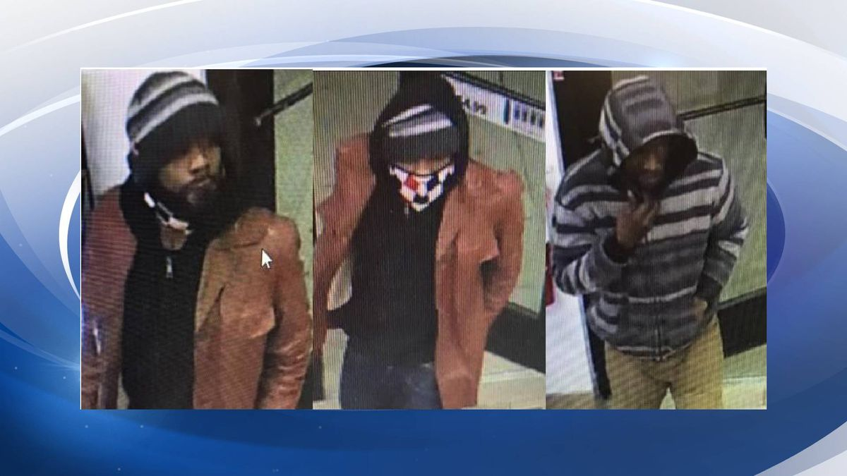 The subjects pictured above are wanted for questioning in reference to a theft at a Circle K...