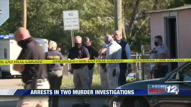 Arrests in two murder investigations