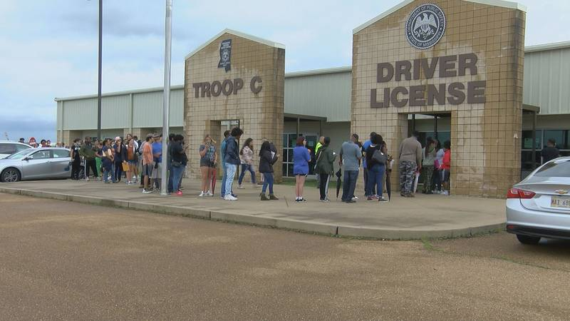 Driver license stations across Mississippi are open again but with a new but temporary...