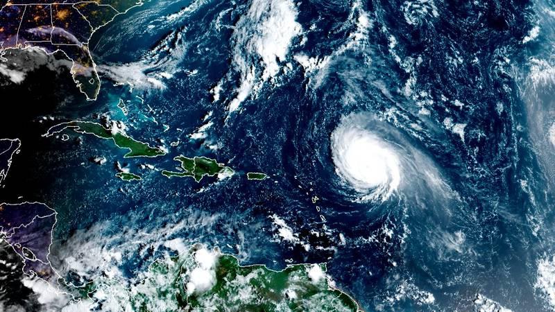 Hurricane Sam as of the morning of Sept. 29, 2021.