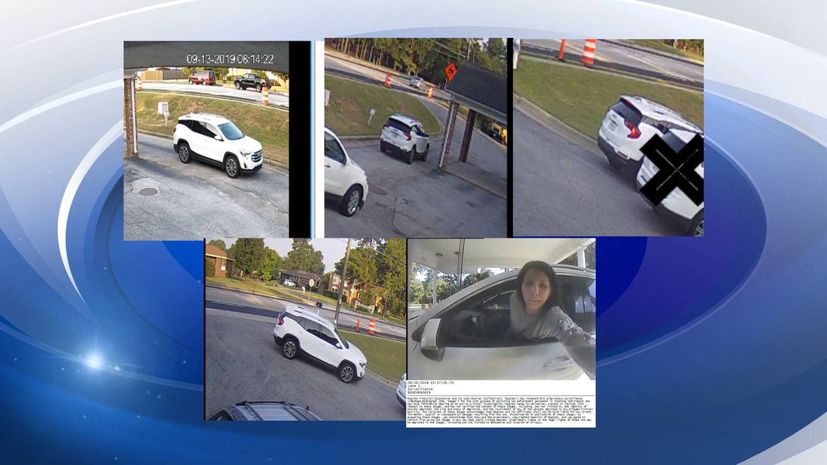 The woman was spotted on surveillance footage. (Source: Columbia County Sheriff's Office)