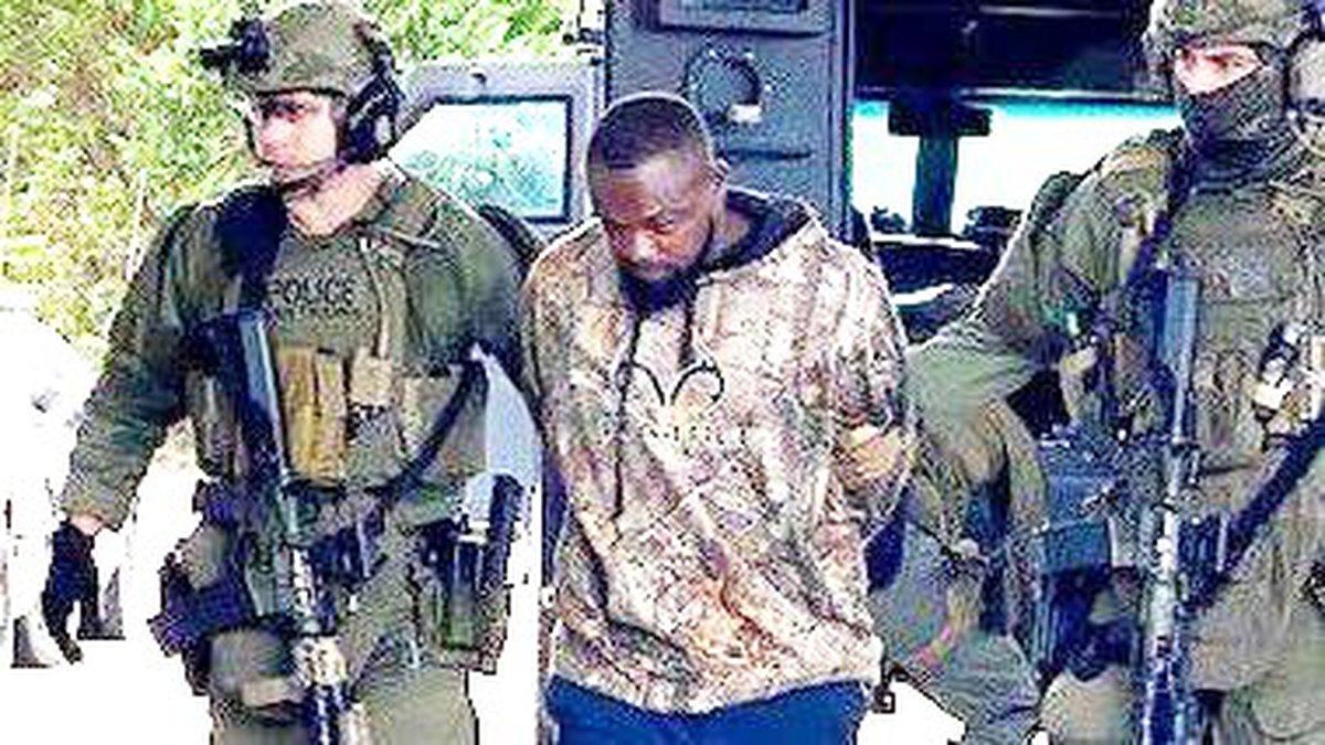 According to the GBI, Damien Ferguson is now in custody.